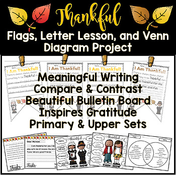 November, Thanksgiving, Thankful NO PREP ELA,Writing and Bulletin Board Bundle