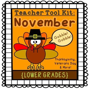 Thanksgiving activities {lower grades}