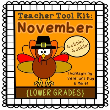 Thanksgiving activities {lower grades}