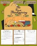 November. *The First Thanksgiving* (1st-3rd) B&W Ready-to-Print. CC Aligned