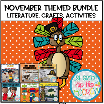 November Themed Bundle...Literature, Crafts, and Activities