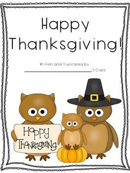 November Themed Classroom Books