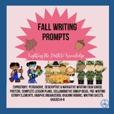 Fall Writing Prompts for Grades 6-8