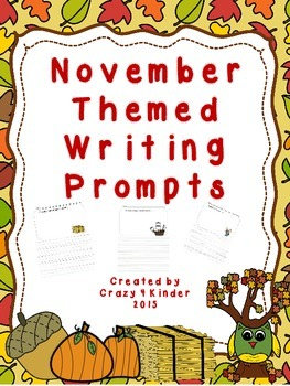 Writing Prompts-November