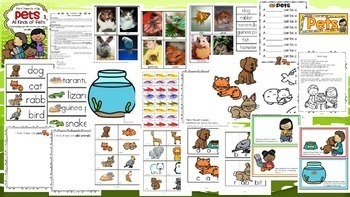 November Curriculum 15 Themes Bundle - Families, Homes, Pets, Thanksgiving