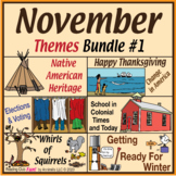 November Themes Puzzle Bundle #1