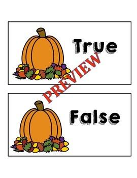 November True False Fact Sort