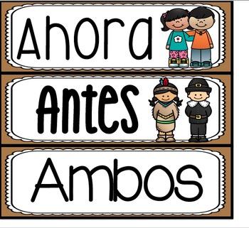 November Unit Bundle in Spanish