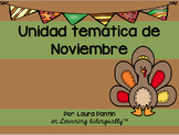 November Unit Bundle in Spanish