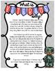 November/Veteran's Day Standards Based Informational Writing using Flee Map