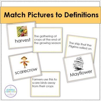 November Vocabulary Games and Activities