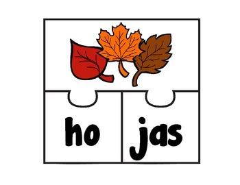 November Vocabulary - Spanish
