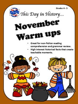 November Warm Ups SAMPLE