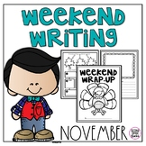 November Weekend Writing