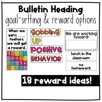 Positive Behavior Management: November Incentive Tracker