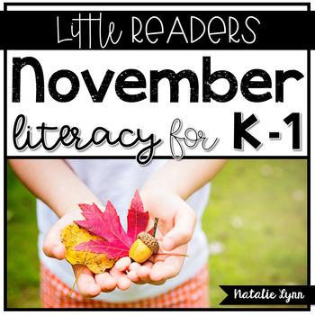 November Whole Group Literacy