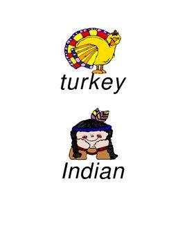 November Word Puzzles
