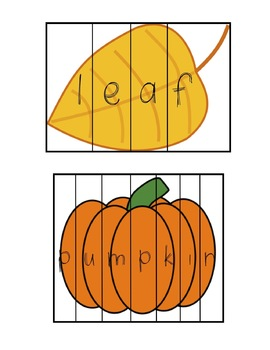 November Word Work Packet: 5 Fun Activities