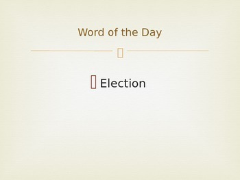 November Word of the Day