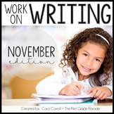 November Work on Writing
