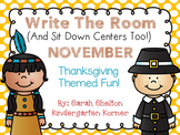 November Write The Room (And Sit Down Centers Too)