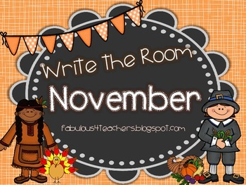 November Write the Room by Fab 4