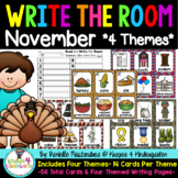 November Write the Room ~4 Themes~