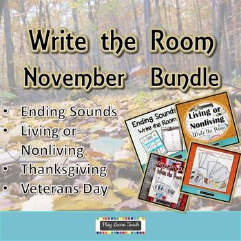 November Write the Room Bundle