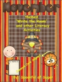 """November """"Write the Room"""" with other Math and Literacy Activities"""