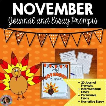 November Writing Bundle