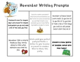 November Writing Center Prompts
