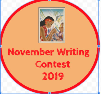 November Writing Contest/Invitation
