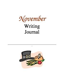Writing Journal, November