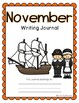 November Writing Journal- 20 Differentiated and NO PREP Writing Prompts