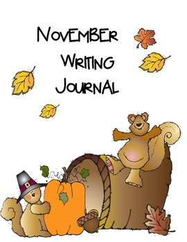 November Writing Practice  (Common Core Aligned)