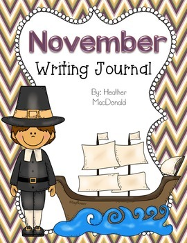 November Writing Journal Covers