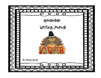 November Writing Journals