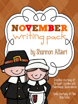 November Writing Pack