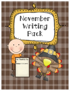 November Writing Pack