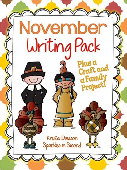 November Writing Printables and Crafts