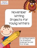 November Writing Projects for Young Writers