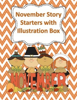 November Story Starters with Illustration Box