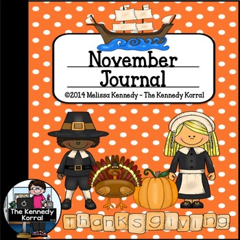 November Thanksgiving Journal {15 Thanksgiving Themed Writing Prompts}
