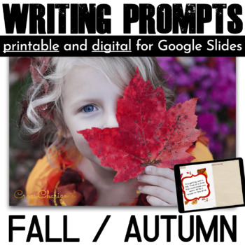 Fall Writing Prompts {66 cards}