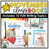 November Writing Prompts & Class Book Covers