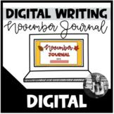 November Writing Prompts (Digital)
