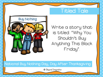 November Writing Prompts With Clip Art Pictures