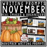 November Writing Prompts - 4th Grade, 3rd Grade & 2nd Grade