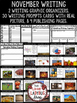 November Writing Prompts - 4th Grade, 3rd Grade & 2nd Grade