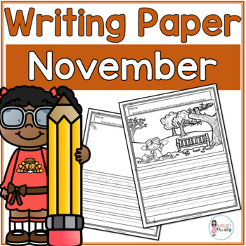 November Writing Prompts & Paper